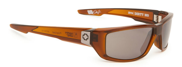 SPY sluneční brýle DIRTY MO Brown Ale - polarizační