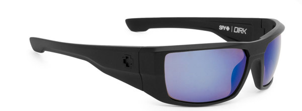 SPY sluneční brýle Dirk Matte Black Blue  - Polarizační