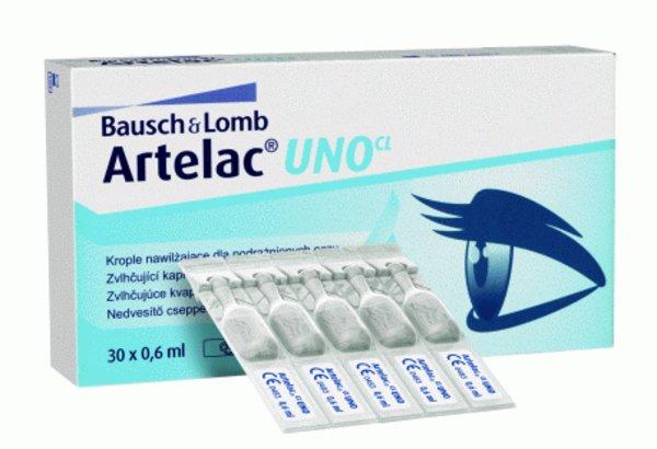 Artelac UNO CL 30x0,6ml
