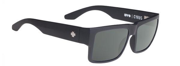 SPY sluneční brýle CYRUS Mt.Black - Grey green