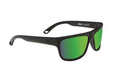 SPY sluneční brýle Angler Matte Black - Happy bronze / green spectra - polarizační