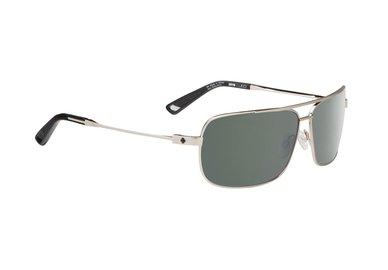 SPY sluneční brýle Leo GP Silver - Happy grey green - polarizační