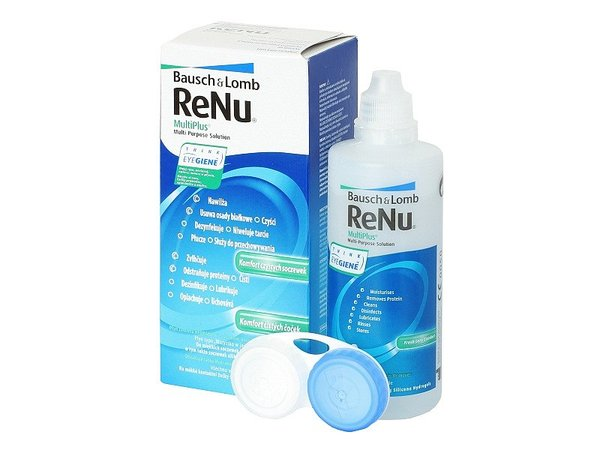 ReNu MultiPlus 120 ml s pouzdrem - exp.10/2016