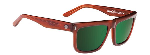 SPY sluneční brýle BRODERICK Chestnut - happy