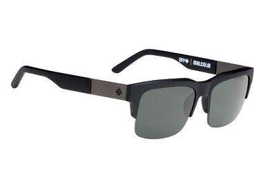 SPY Sluneční brýle Malcolm Soft Mate Black - Happy polarizační