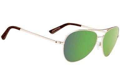 SPY Sluneční brýle WHISTLER Gold / Green - happy