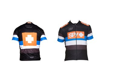 SPY Cyklistický dres - triko velikost XL