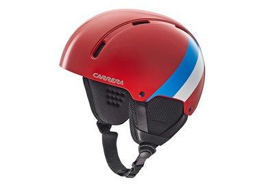 Carrera helma CARRERA ID - červená/modrá