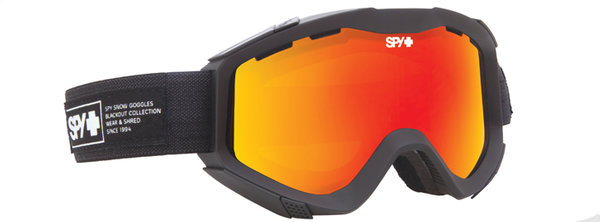 SPY Lyžařské brýle ZED - Nocturnal Red