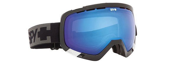 SPY Lyžařské brýle PLATOON - Black / Persimmon Contact