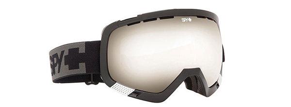 SPY Lyžařské brýle PLATOON - Black / Silver Mirror
