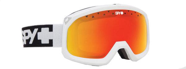SPY Lyžařské brýle TREVOR - Matte White / Red
