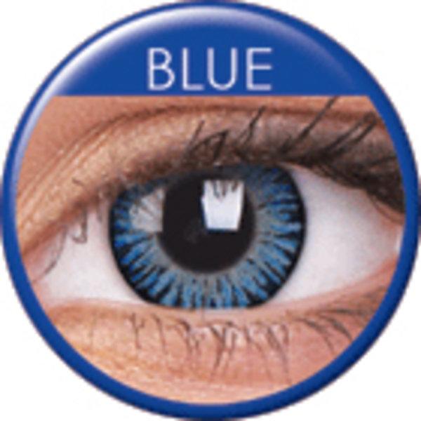 3 Tone Blue - Toric dioptrické (2 tříměsíční čočky) - doprodej