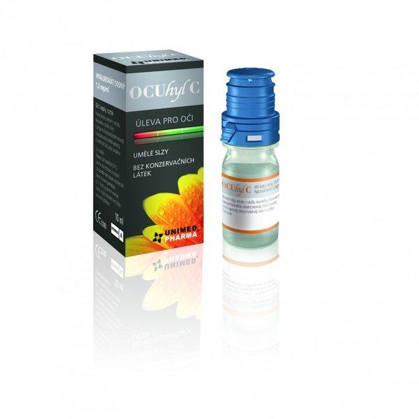 OCUhyl 10 ml - poškozený obal