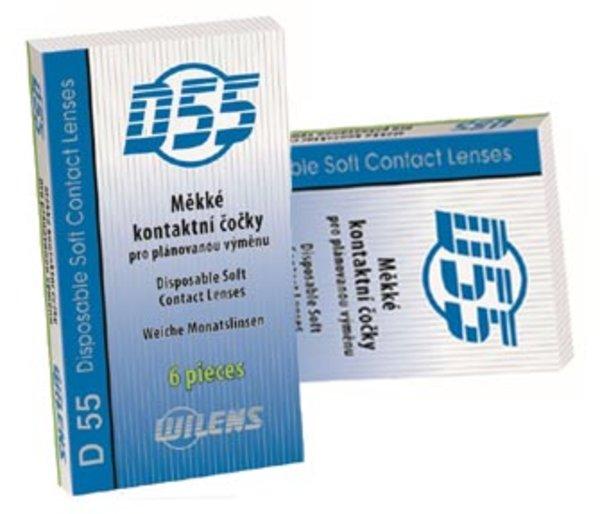 Kontaktní čočky D55 WILENS - výprodej