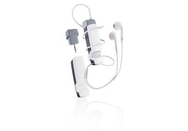 XD Design Jam - multifunkční audio příslušenství 4 v 1 - bílé