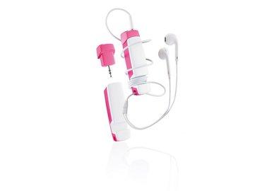 XD Design Jam - multifunkční audio příslušenství 4 v 1 - růžové