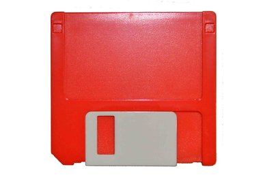 Pouzdro sestava disketa - červená