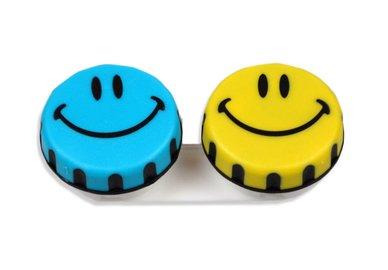 Klasické pouzdro motiv - Smiley