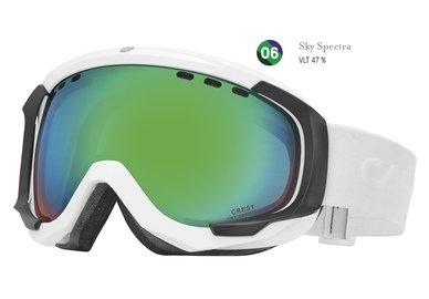 Lyžařské brýle Carrera CREST SPH - bílé/sky