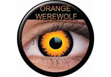 ColourVue Crazy čočky - Orange Werewolf (2 ks roční) - nedioptrické - exp.02/22