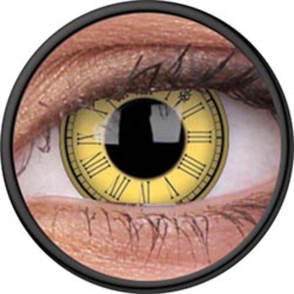 ColourVue Crazy čočky - Timekeeper (2 ks roční) - nedioptrické