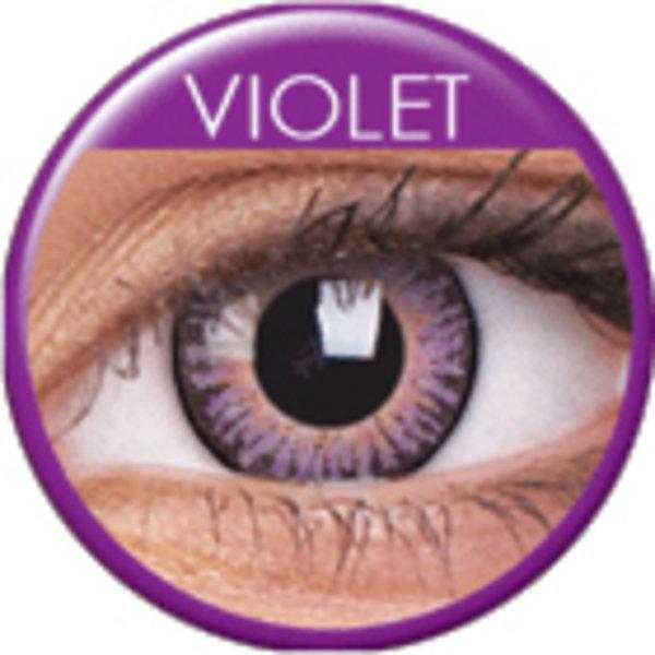 ColourVue 3 Tones - Violet (2 čočky tříměsíční) - dioptrické - výprodej exp.06/2020
