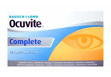Ocuvite Complete 60 tablet- exp.06/2017