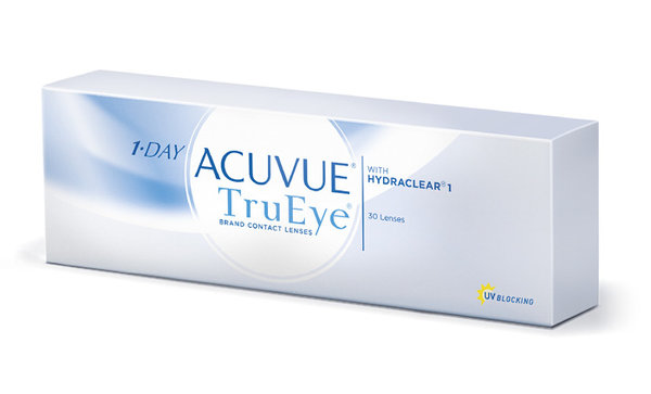1-Day Acuvue TruEye (30 čoček) - exp.2019