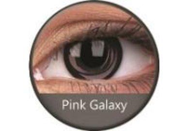 Phantasee Crazy čočky - Pink Galaxy (2 ks roční) - nedioptrické - exp.02/2021
