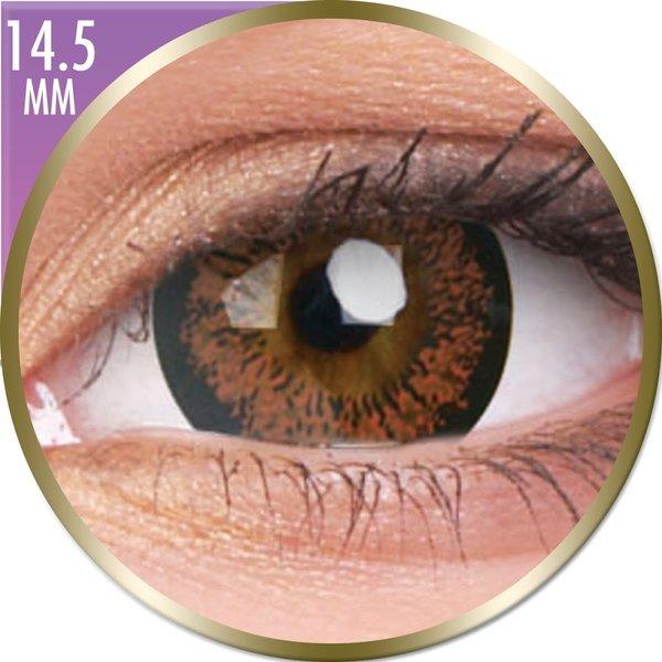 Phantasee Big Eyes - Angel Hazel (2 čočky měsíční) - dioptrické