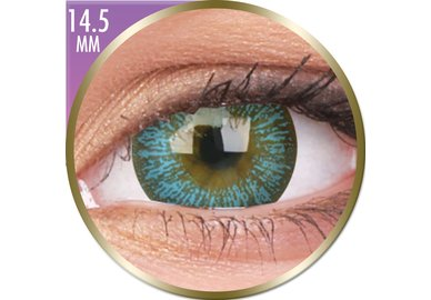Phantasee Big Eyes - Maya Blue (2 ks měsíční) dioptrické