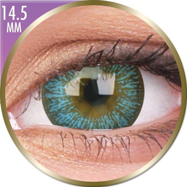 Phantasee Big Eyes - Maya Blue (2 ks měsíční) nedioptrické - doprodej
