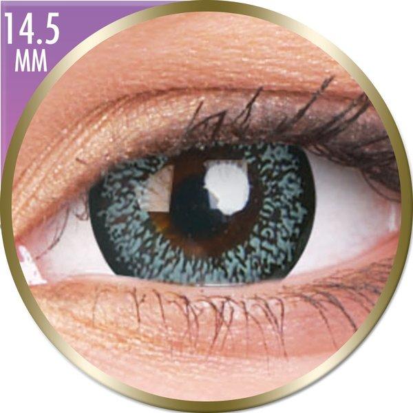 Phantasee Big Eyes - Pearl Grey (2 čočky měsíční) - dioptrické