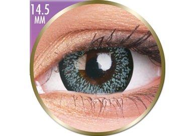 Phantasee Big Eyes - Pearl Grey (2 čočky měsíční) - nedioptrické - doprodej