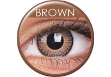 ColourVue 3 Tones - Brown (2 čočky tříměsíční) - dioptrické exp.04/2018