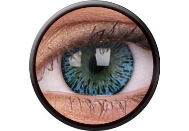 ColourVue Elegance - Aqua (2 čočky tříměsíční) - dioptrické - poškozený obal