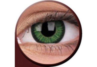 Phantasee Vivid - Green (2 čočky tříměsíční) - dioptrické