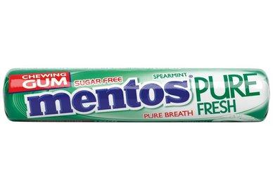 Mentos Gum pure fresh spearmint roll 15,5g