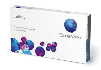 Biofinity (3 čočky) - poškozený obal -4,00