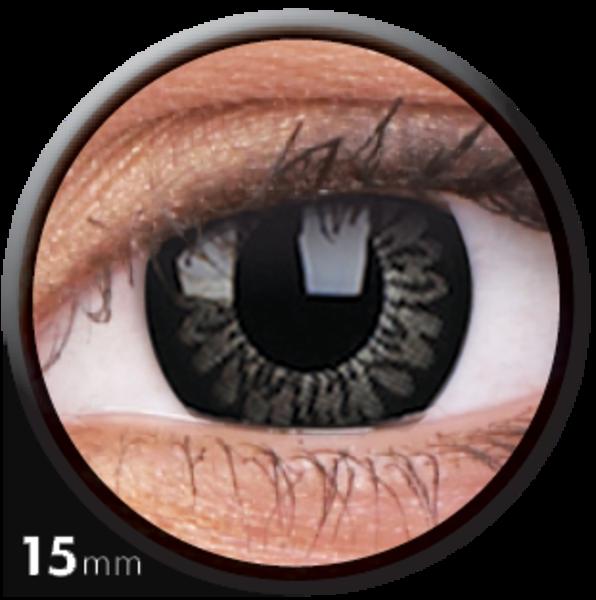 ColourVue Big Eyes - Awesome Black (2 čočky tříměsíční) - nedioptrické - exp.07/2019