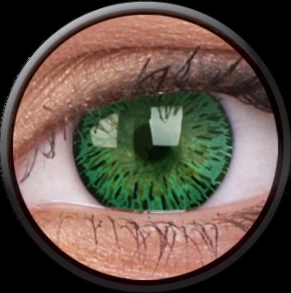 ColourVue Elegance - Green (2 čočky tříměsíční) - dioptrické