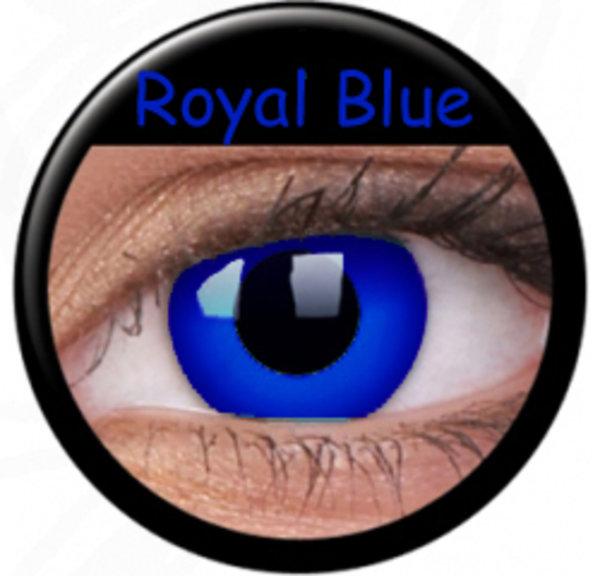 ColourVue Crazy čočky - Psylocke (Royal Blue) (2 ks roční) - nedioptrické - poškozený obal