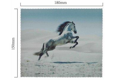 Hadřík na brýle z mikrovlákna- motiv kůň