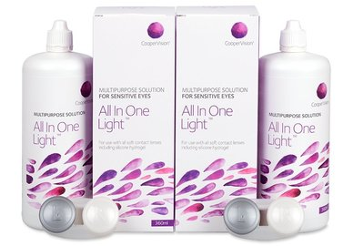 All In One Light 2x360 ml s pouzdrem