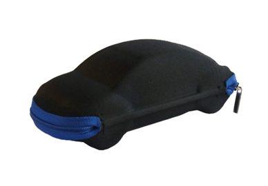 Pouzdro na brýle se zipem - auto černé