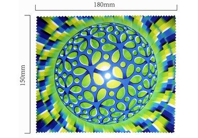 Hadřík na brýle z mikrovlákna- motiv optický klam
