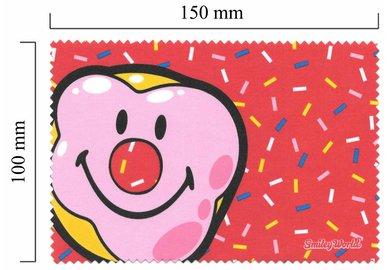 Hadřík na brýle z mikrovlákna Smiley - klaun