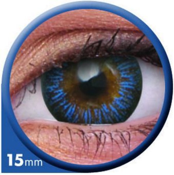 ColourVue Big Eyes - Enchanter Blue (2 čočky tříměsíční) - nedioptrické