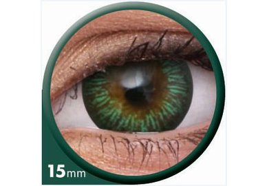 ColourVue Big Eyes - Enchanter Green (2 čočky tříměsíční) - dioptrické